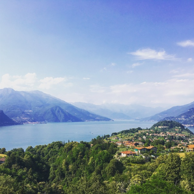 view from Hotel Il Perlo Panorama